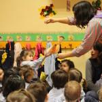 Espectáculo De Una Compañía Teatral En La Llar D'Infants